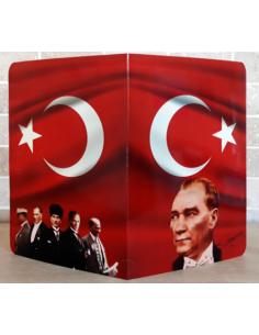 Mudu Yayıncılık Atatürklü Karne Kılıfı