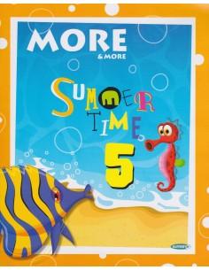 More & More 5. Sınıf Summer Time İngilizce Tatil Kitabı