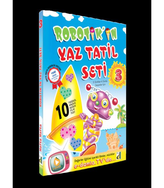 Damla Robotik'in Yaz Tatil Seti (3. Sınıf)