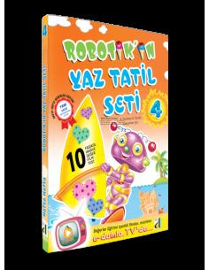 Damla Robotik'in Yaz Tatil Seti (4. Sınıf)