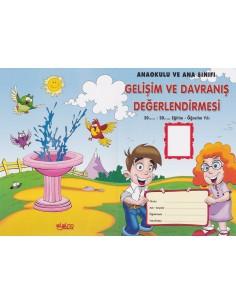 Okul Öncesi Davranış ve Gelişim Değerlendirmesi - Alpino Yayınları