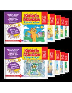 Adeda Yayınları Kipkip'in Maceraları (10 kitap)
