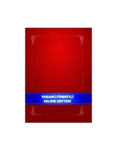 Karatay Yayınları Yabancı Fihristli Kelime Defteri