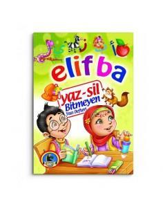 Karatay Çocuk Yayınları Yaz Sil Elif Ba