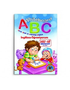 Karatay Çocuk Yayınları Yaz Sil ABC ingilizce