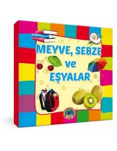 Karatay Çocuk Yayınları Meyve Sebze ve Eşyalar