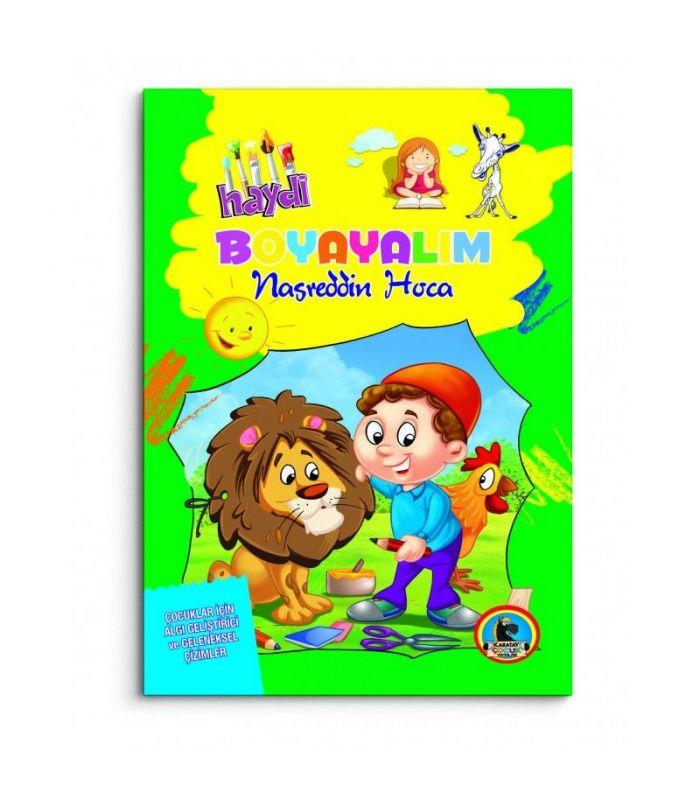 Karatay çocuk Yayınları Nasreddin Hoca Boyama
