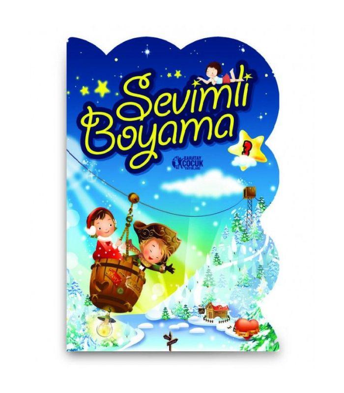 Karatay çocuk Yayınları Sevimli Ve şekilli Boyama