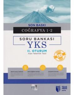 Teas Press YKS-AYT Coğrafya 1-2 Deneme Bankası