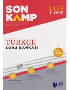 Teas Press 8. Sınıf LGS Son Kamp Türkçe Soru Bankası