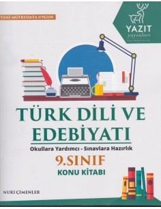 Yazıt Yayınları 9.Sınıf Türk Dili ve Edebiyatı Konu Kitabı