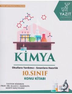 Yazıt Yayınları 10.Sınıf Kimya Konu Kitabı
