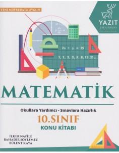 Yazıt Yayınları 10.Sınıf Matematik Konu Kitabı