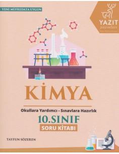 Yazıt Yayınları 10.Sınıf Kimya Soru Kitabı