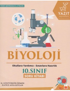 Yazıt Yayınları 10.Sınıf Biyoloji Soru Kitabı