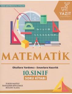Yazıt Yayınları 10.Sınıf Matematik Soru Kitabı