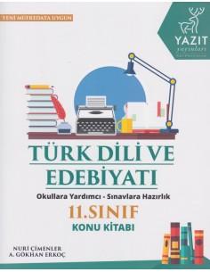 Yazıt Yayınları 11.Sınıf Türk Dili ve Edebiyatı Konu Kitabı