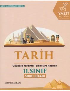 Yazıt Yayınları 11.Sınıf Tarih Soru Kitabı
