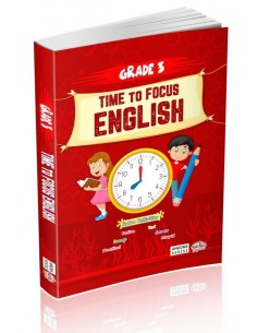 Editör Yayınları 3.Sınıf Time to Focus English