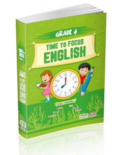 Editör Yayınları 4.Sınıf Time to Focus English