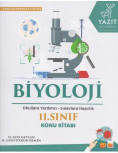 Yazıt Yayınları 11.Sınıf Biyoloji Konu Kitabı