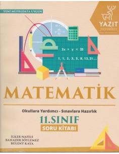 Yazıt Yayınları 11.Sınıf Matematik Soru Kitabı