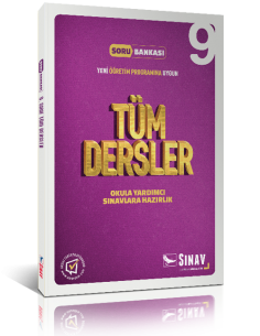 Sınav Yayınları Lise 9.Sınıf Tüm Dersler Çözümlü Soru Bankası