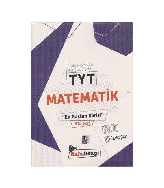 Kafa Dengi Yayınları TYT Matematik En Baştan Serisi 3'lü Seri