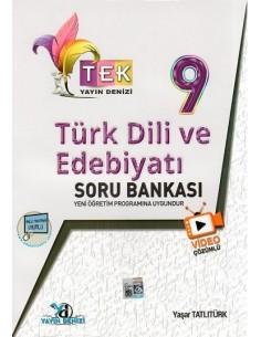 Yayın Denizi 9. Sınıf TEK Serisi Video Çözümlü Türk Dili ve Edebiyatı Soru Bankası