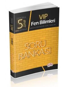 Editör Yayınları 5.Sınıf VIP Fen Bilimleri Soru Bankası