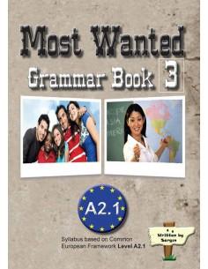 Sargın Yayıncılık Most Wanted Grammar Book 3 A2.1