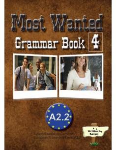 Sargın Yayıncılık Most Wanted Grammar Book 4 A2.2