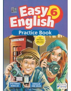 Spring Easy English Practice Book 6