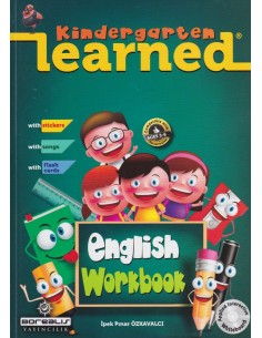Borealıs Learned Kindergarten English Workbook