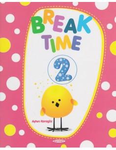 Kurmay Yayınları 2.Sınıf Break Time ( Yarıyıl Tatil Kitabı )