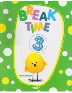 Kurmay Yayınları 3.Sınıf Break Time ( Yarıyıl Tatil Kitabı )