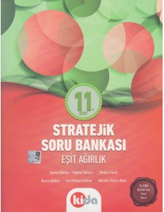 Kida Yayınları 11.Sınıf Tüm Dersler Soru Bankası (Eşit Ağırlık)