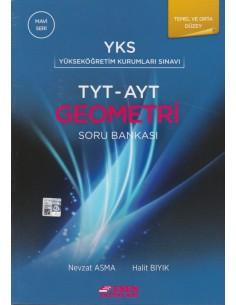 Esen Yayınları TYT - AYT Geometri Soru Bankası Temel ve Orta Düzey