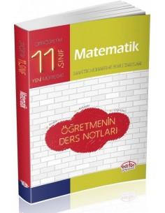 Editör Yayınları 11.Sınıf Matematik Öğretmenin Ders Notları