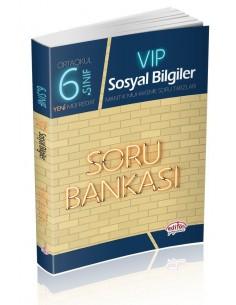 Editör Yayınları 6.Sınıf VIP Sosyal Bilgiler Soru Bankası