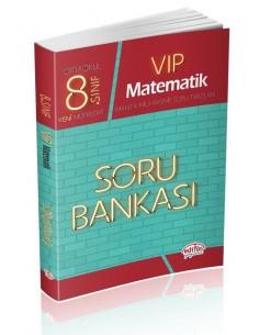 Editör Yayınları Ortaokul 8.Sınıf VİP Matematik Soru Bankası