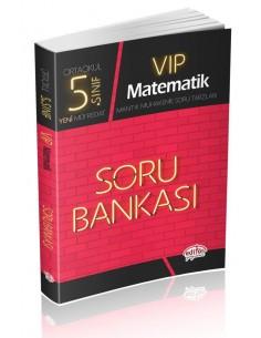 Editör Yayınları Ortaokul 5.Sınıf VİP Matematik Soru Bankası