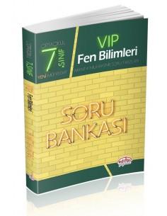 Editör Yayınları 7.Sınıf VIP Fen Bilimleri Soru Bankası