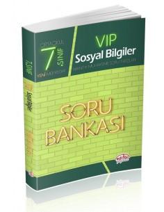 Editör Yayınları 7.Sınıf VIP Sosyal Bilgiler Soru Bankası
