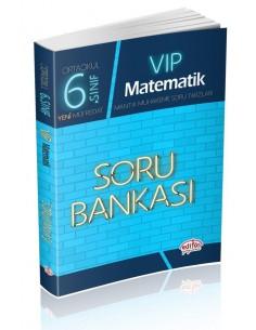 Editör Yayınları Ortaokul 6.Sınıf VİP Matematik Soru Bankası