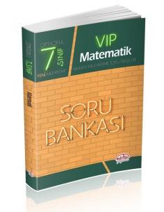 Editör Yayınları Ortaokul 7.Sınıf VİP Matematik Soru Bankası