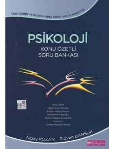 Esen Yayınları 11.Sınıf Psikoloji Konu Özetli Soru Bankası