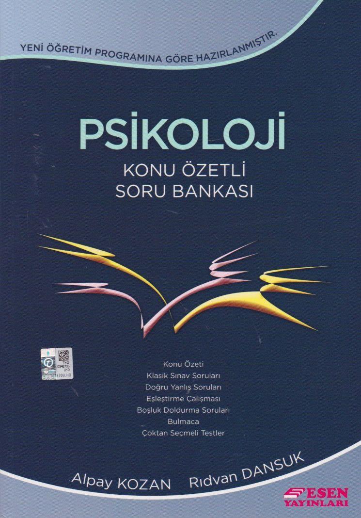 Esen Yayınları 11sınıf Psikoloji Konu özetli Soru Bankası