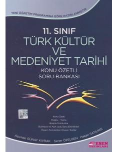 Esen Yayınları 11.Sınıf Türk Kültür Tarihi Özetli Soru Bankası