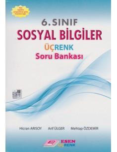 Esen Üçrenk Yayınları 6.Sınıf Sosyal Bilgiler Soru Bankası